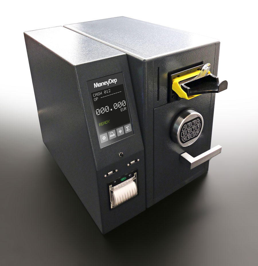 Plug-in MoneyDep - Automated Teller Safe System